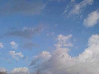 今日の雲行…